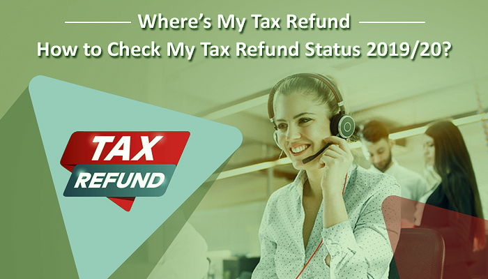 How to check the status of a tax refund?